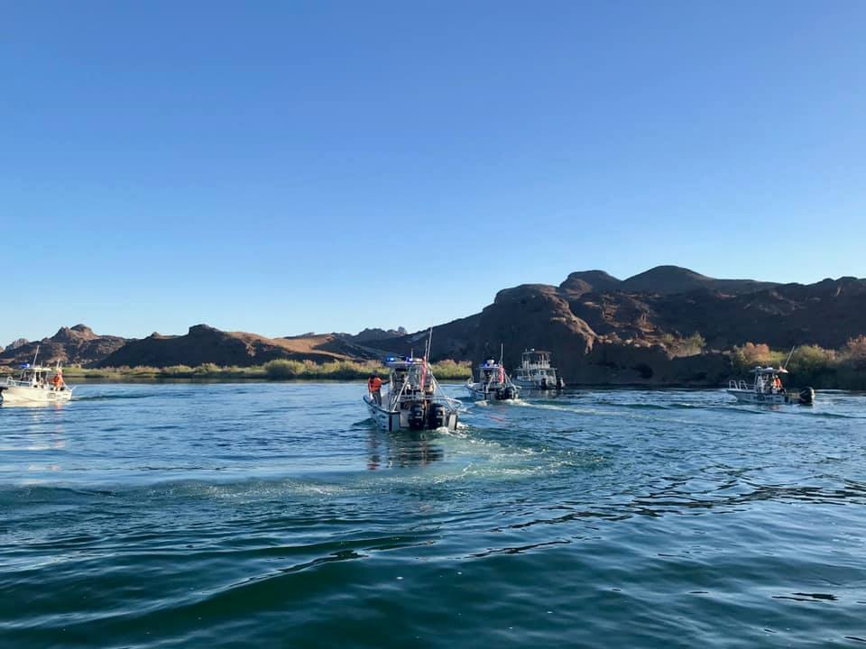 search for possible drowning victim at lake havasu