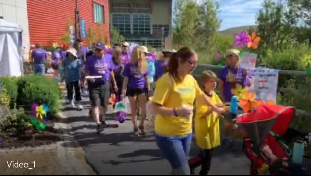 Walk to end Alzheimers in Park City