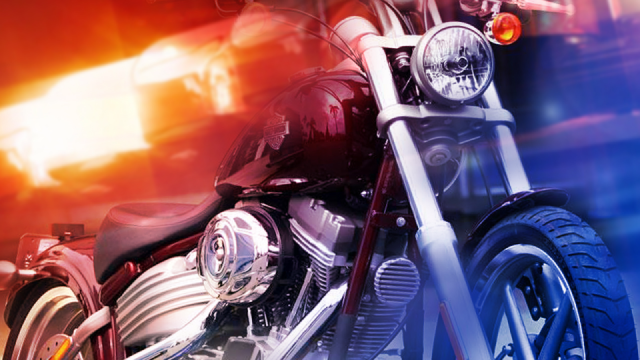 Man in extremely critical condition after crashing motorcycle