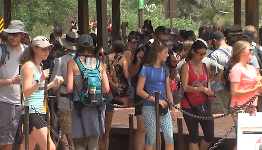 Zion National Park staff responds to several medical emergencies over Labor Day weekend