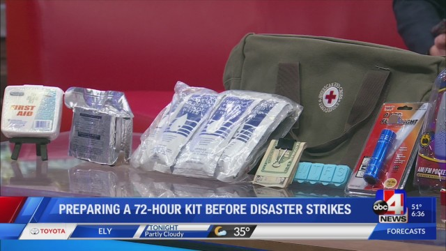 Tips for preparing a 72-hour kit before disaster strikes