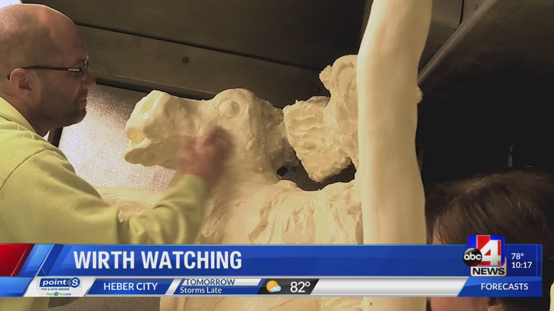 Wirth watching: the utah state fair and the cow made of butter