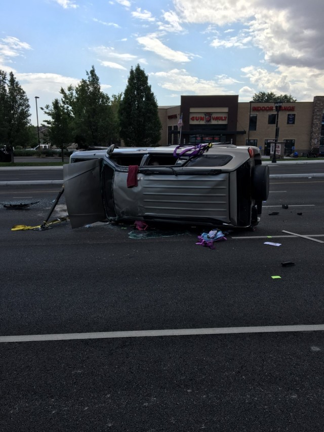 Woman faces DUI charges after 2 children ejected in South Jordan rollover crash