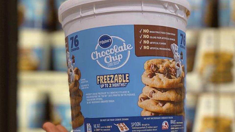 Costco Selling 76 Oz Tubs Of Cookie Dough Abc4 Utah