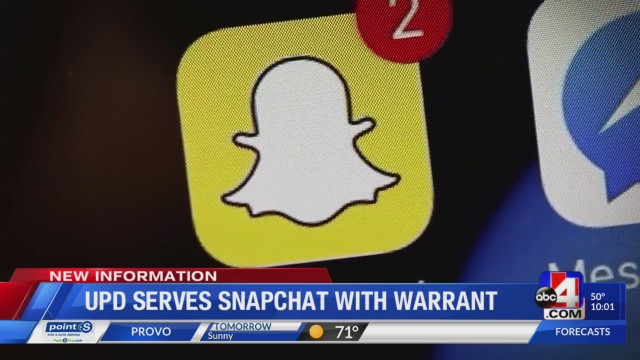 Snapchat served with warrant; police believe deleted posts have information in Taylorsville shooting death