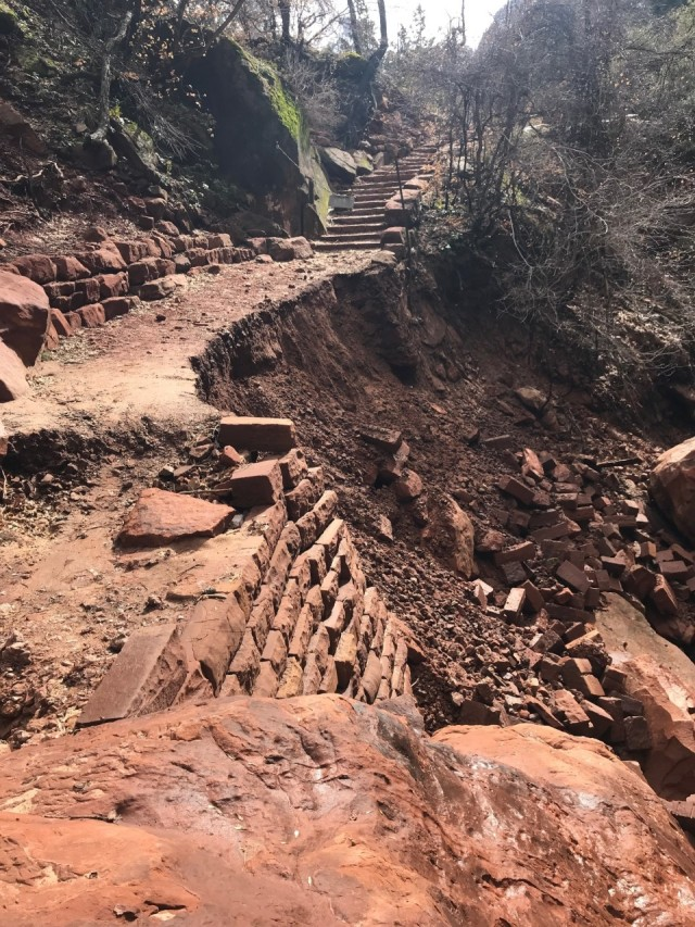 Zion's Emerald Pool Trail to close for major trail repairs