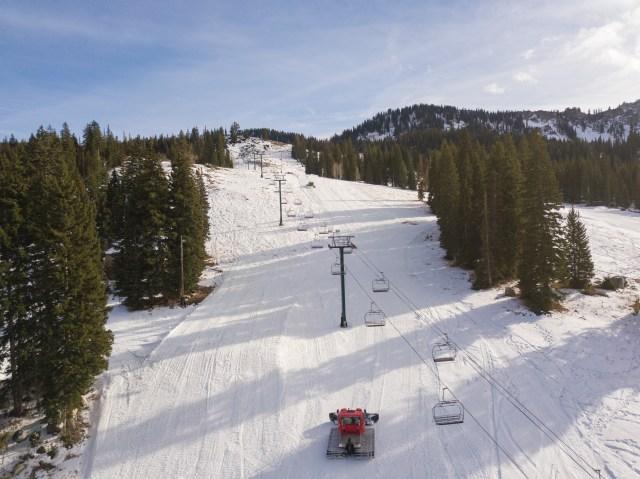 Brighton first ski resort to open this season