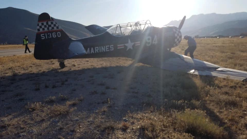 heber airport landing maneuvers accident