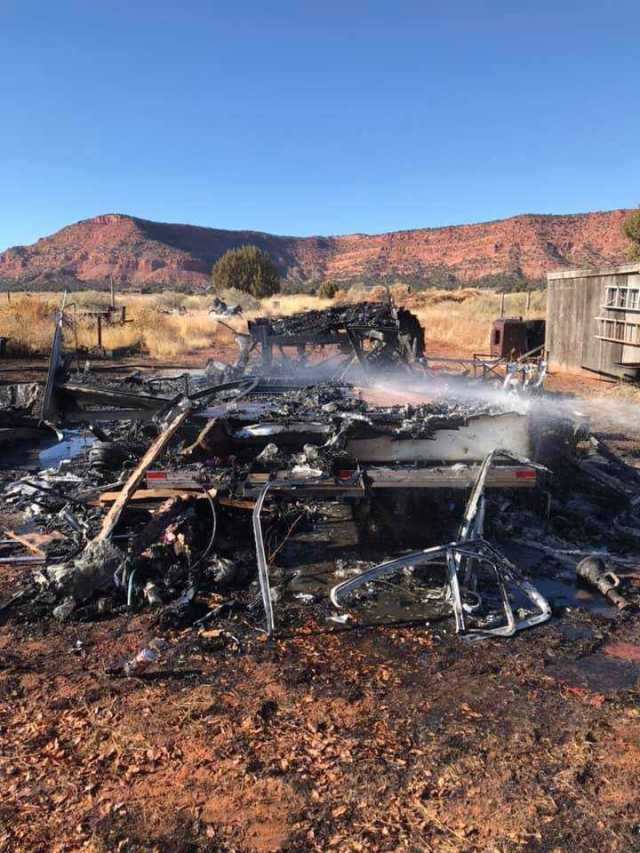 With the help of civilians, firefighters save structure from fire