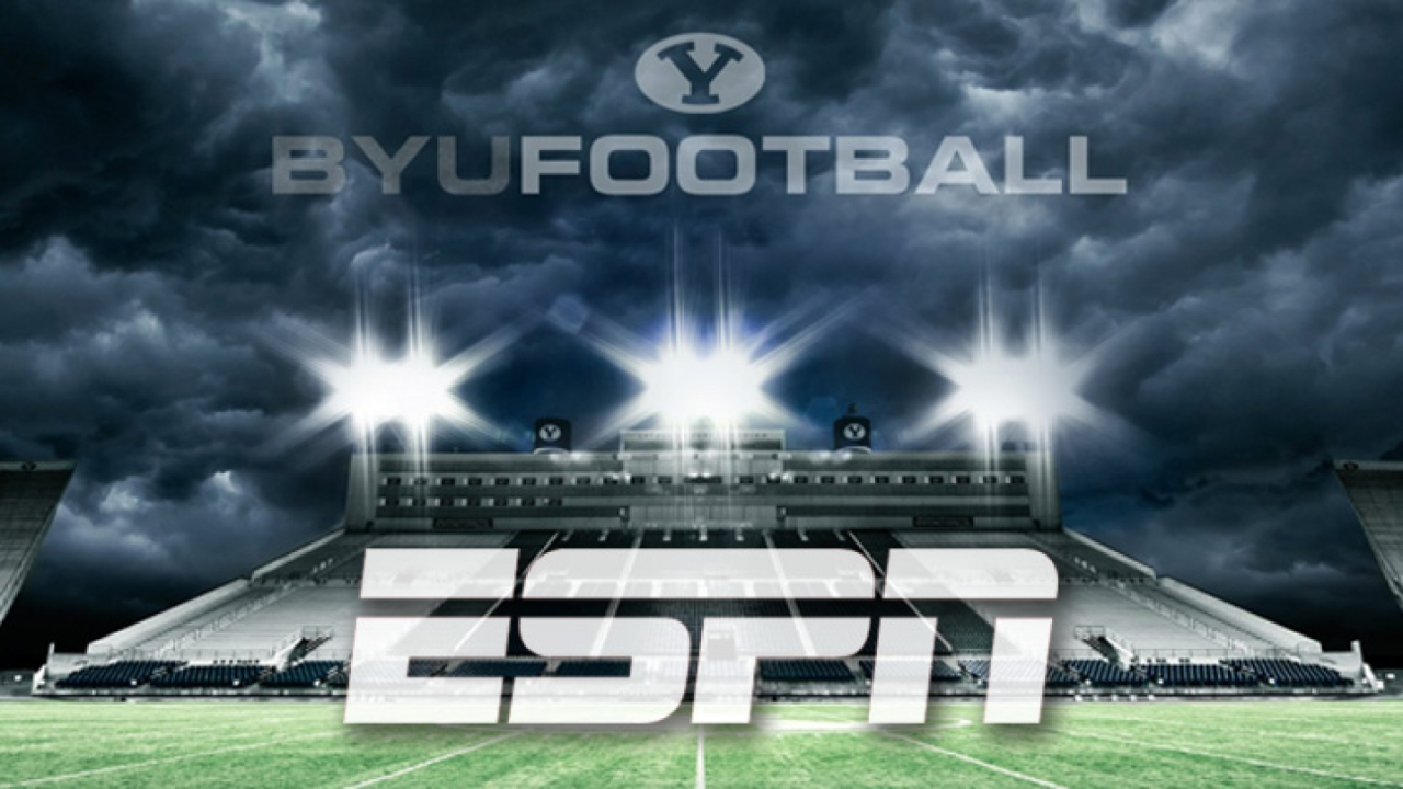ESPN will broadcast home BYU games through 2026