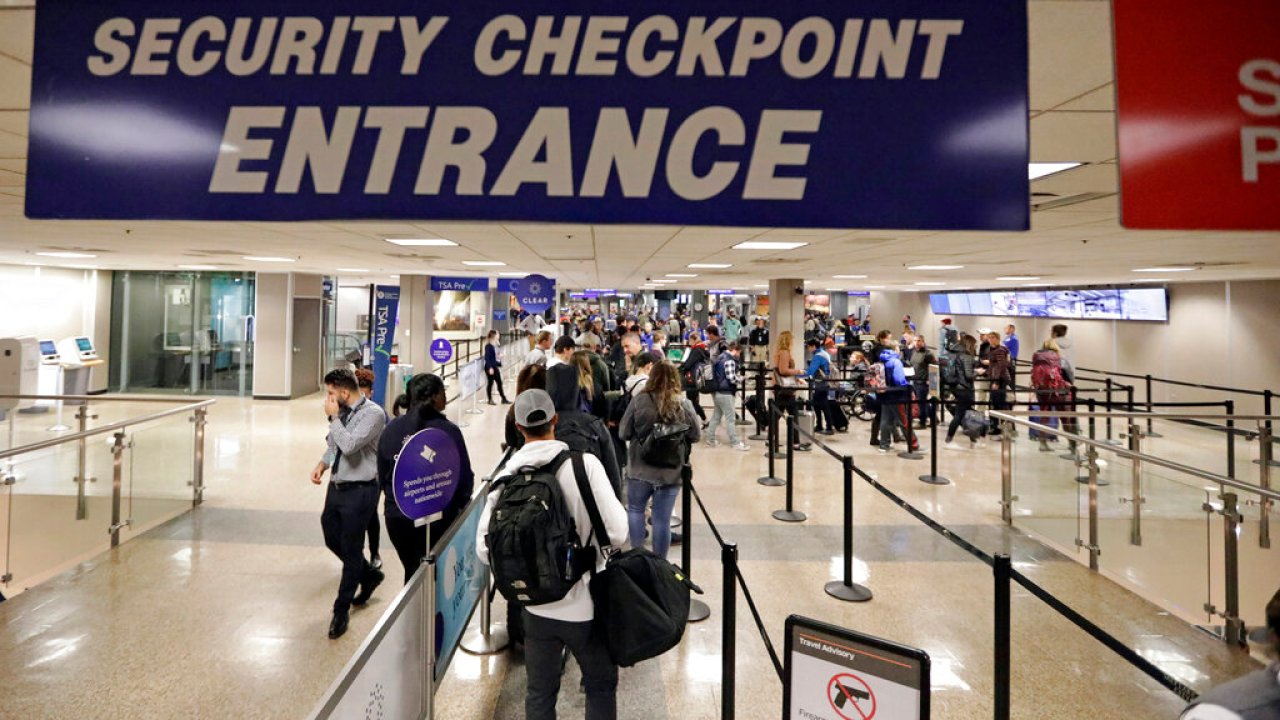 Terminal 1 security checkpoints reopen after brief closure Wednesday