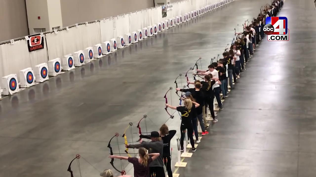 Young archers compete in National Archery Tournament