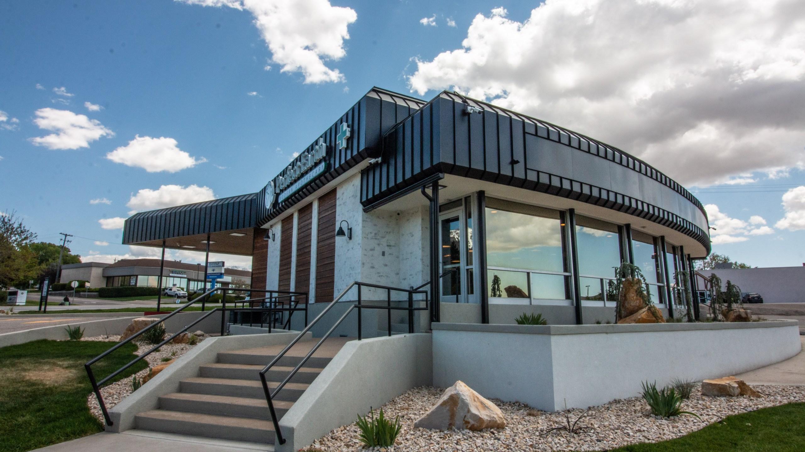 Medical Marijuana Drive Thru Cannabis Pharmacy Opens In Ogden
