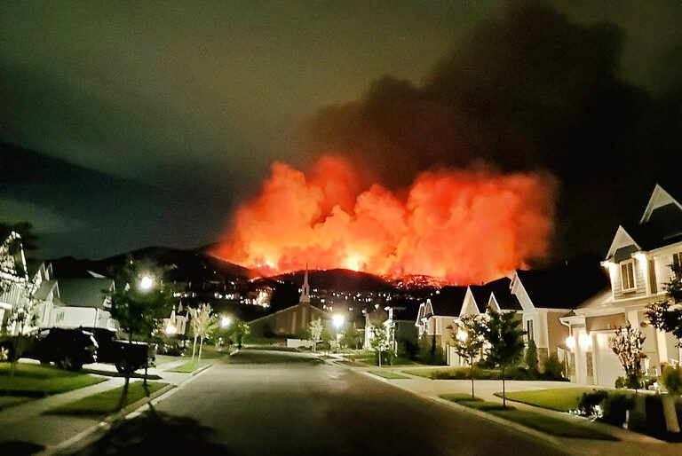 Utah Nears 1 000 Wildfires This Season Utopia Fiber Creates A System To Detect Fires Early