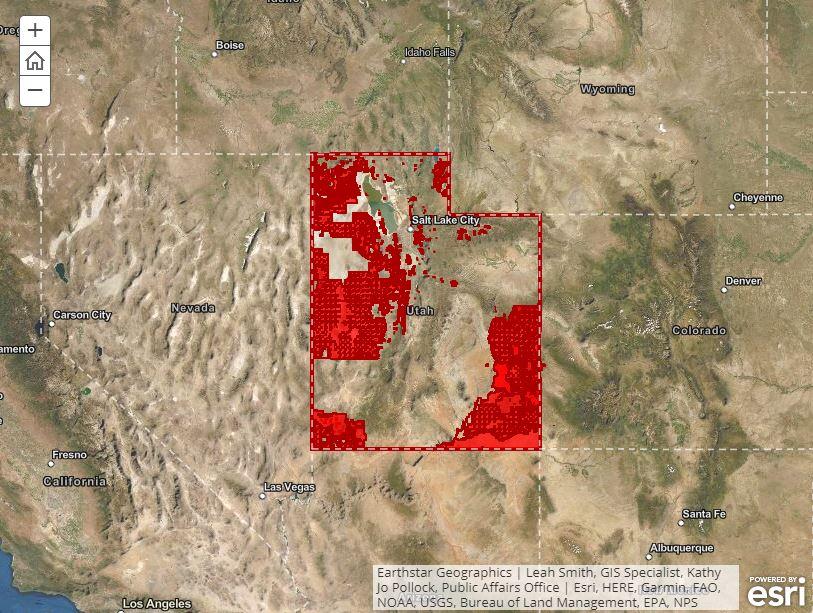Utah Fire Map 2020 Utah firework restrictions: Where can I light fireworks in Utah?