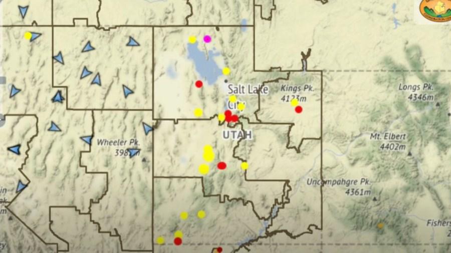Utah Fire Map 2020 Utah's 2020 wildfire count so far