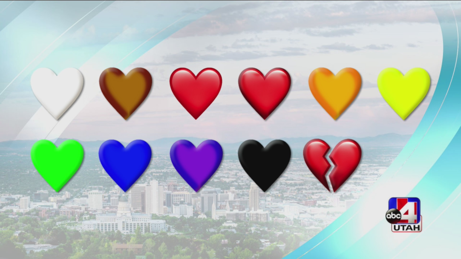What do the different colors of heart emojis actually mean   ABC12 ...