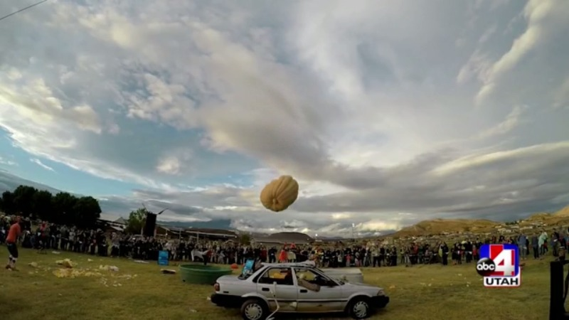 Giant Pumpkin Drop