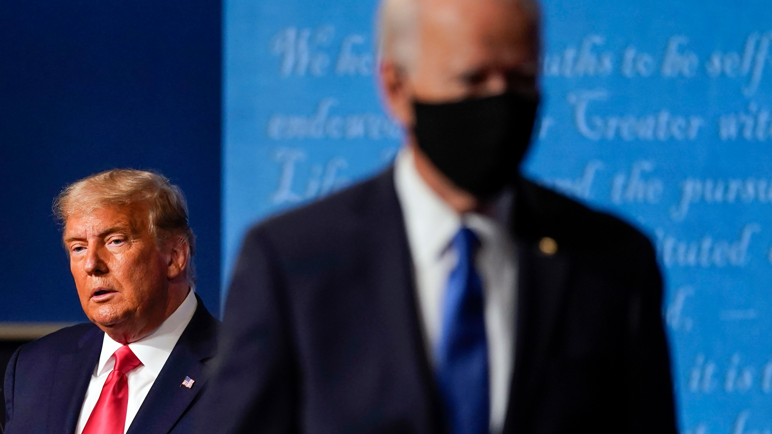 Melania Trump, Donald Trump, Joe Biden