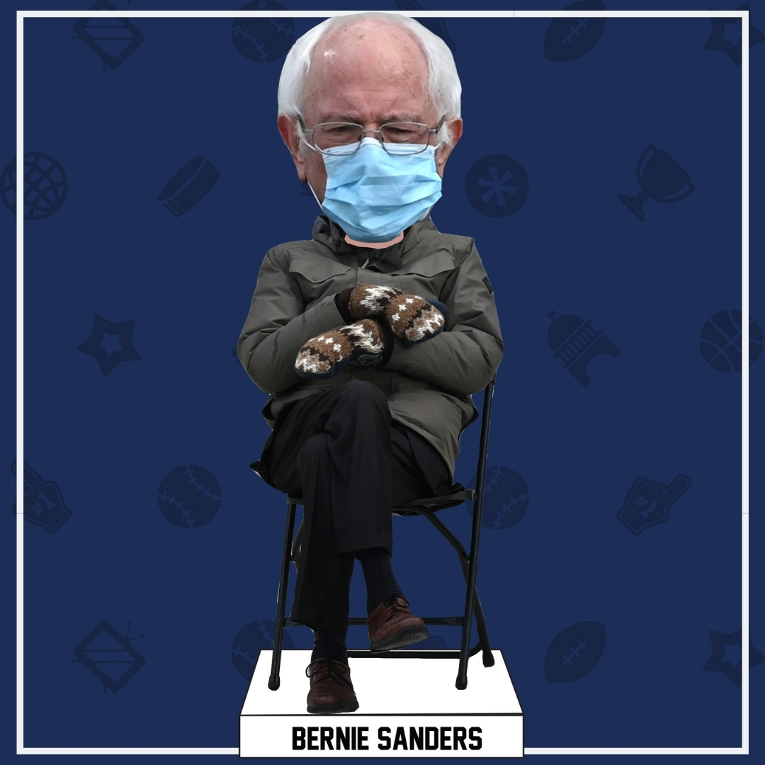 Bernie Sanders Becoming Inauguration Day Bobblehead Abc4 Utah Zoom meetings have become a very important part of our quarantine life and one of the best features of the video conferencing software is the ability to choose your own virtual background. bernie sanders becoming inauguration