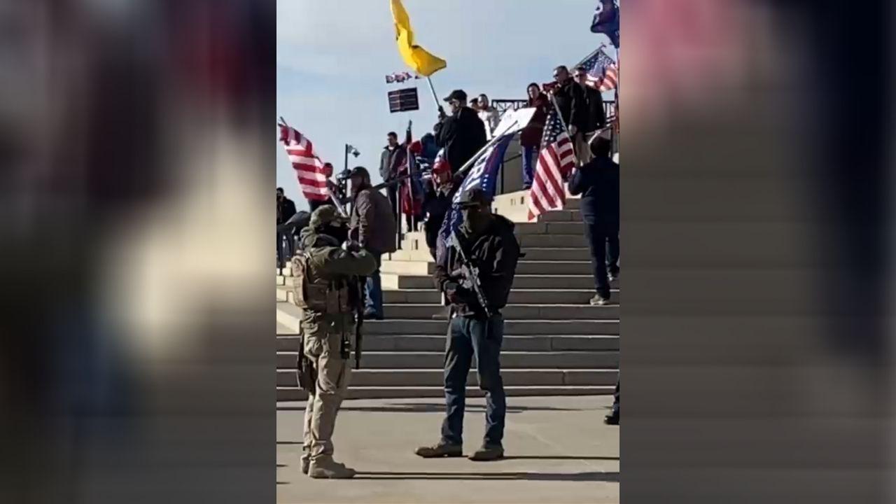 Local protestors gather at Utah State ...