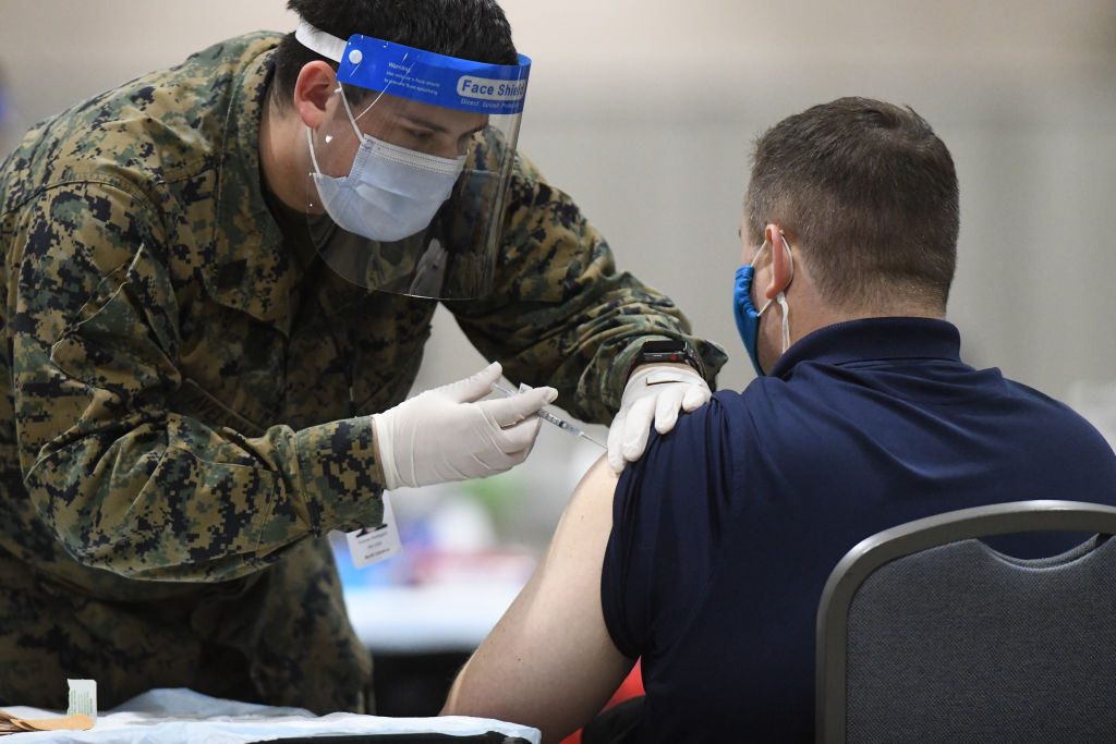 Fully-vaccinated people can gather without masks: CDC