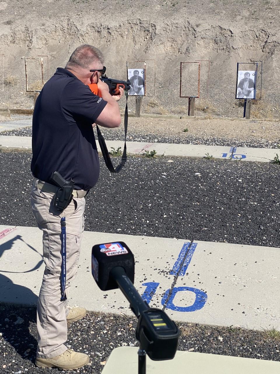 Salt Lake City police non-lethal