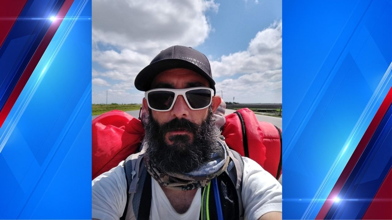 'Walk it out': Florida man walking to Zion National Park on journey to become better