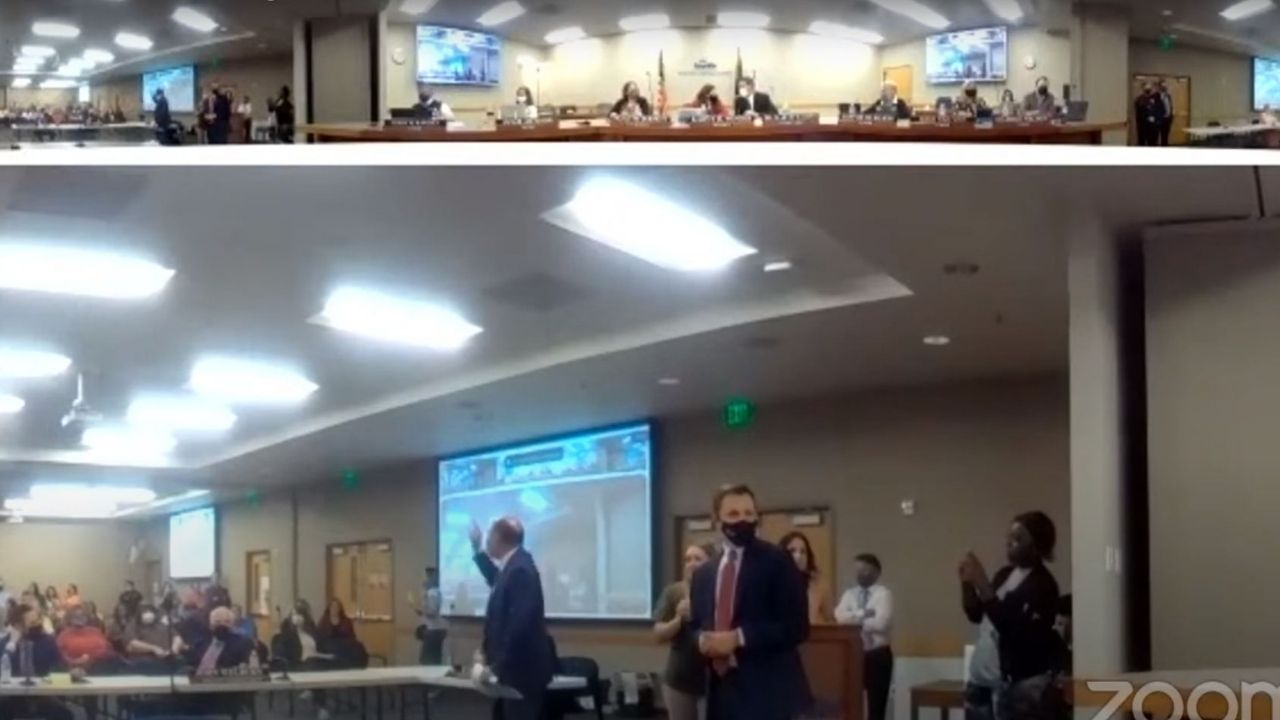 Granite School District shuts down board meeting due to anti-mask protest