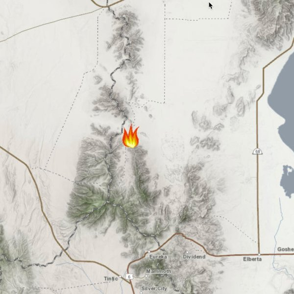 Broad Canyon Fire