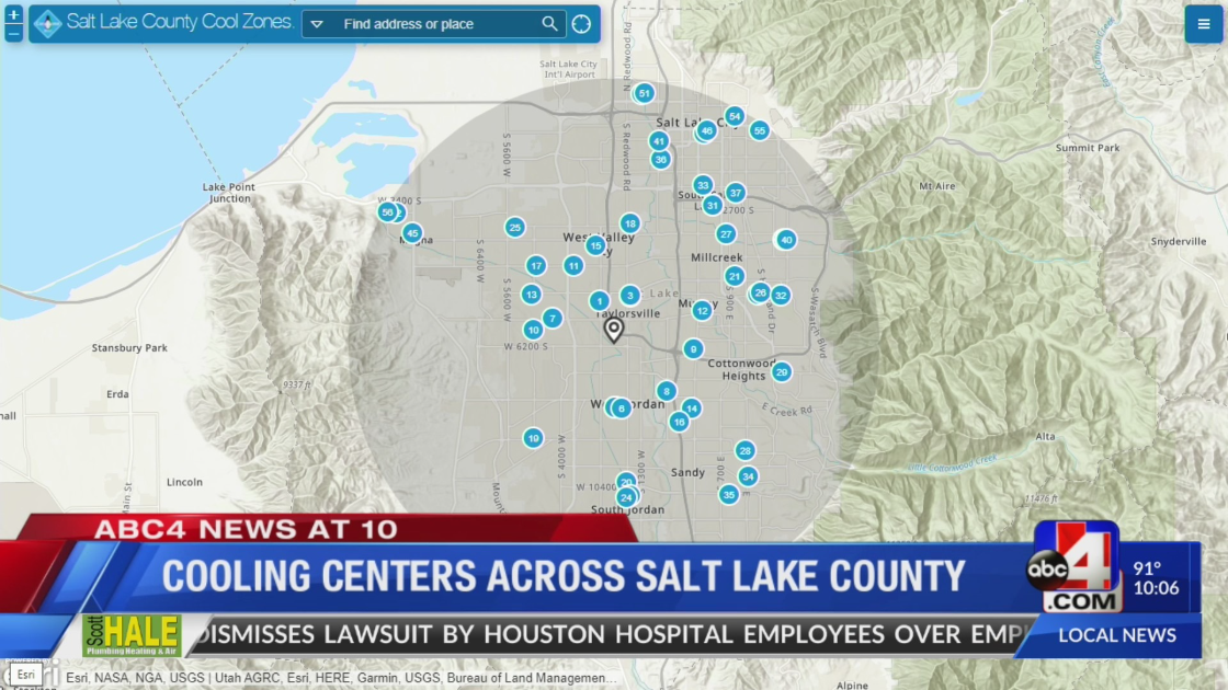 Check out these 'Cool Zones' in Salt Lake County