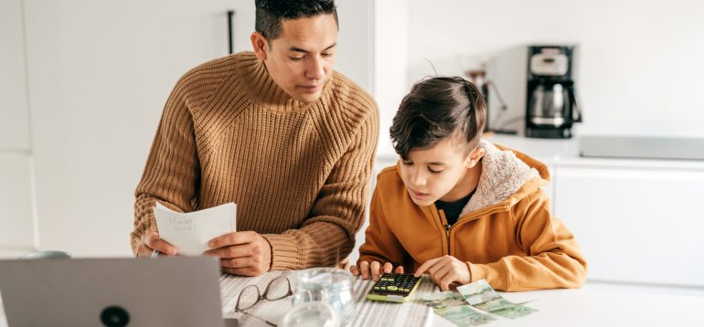 Millennials are teaching money lessons to their kids about spending, saving and investing.