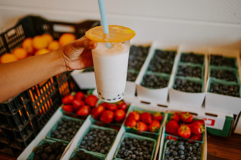 THe Orange Peel real fruit smoothies