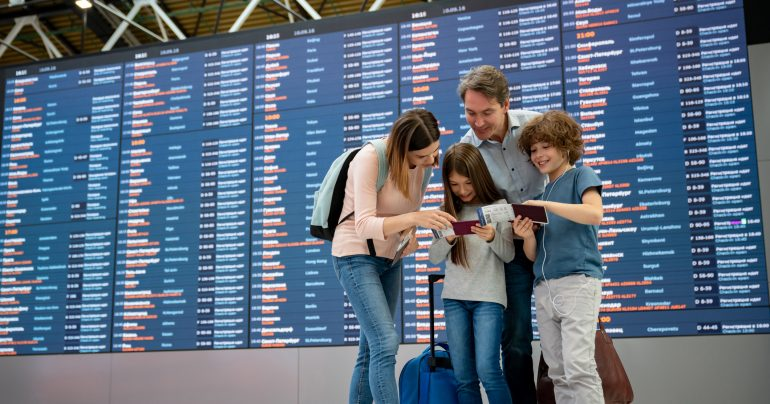 Families can benefit from having multiple people that can earn points for future trips.