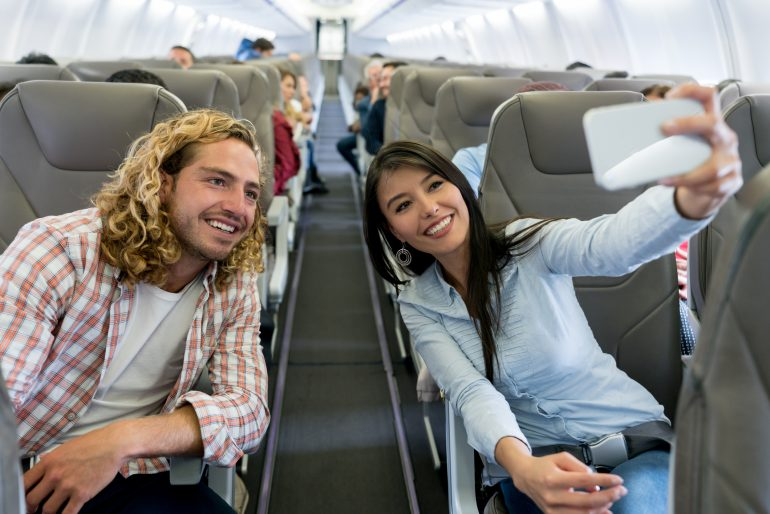 Perks usually reserved for first class passengers, like lounge access and free checked bags, might be available to certain travel credit card holders as well.