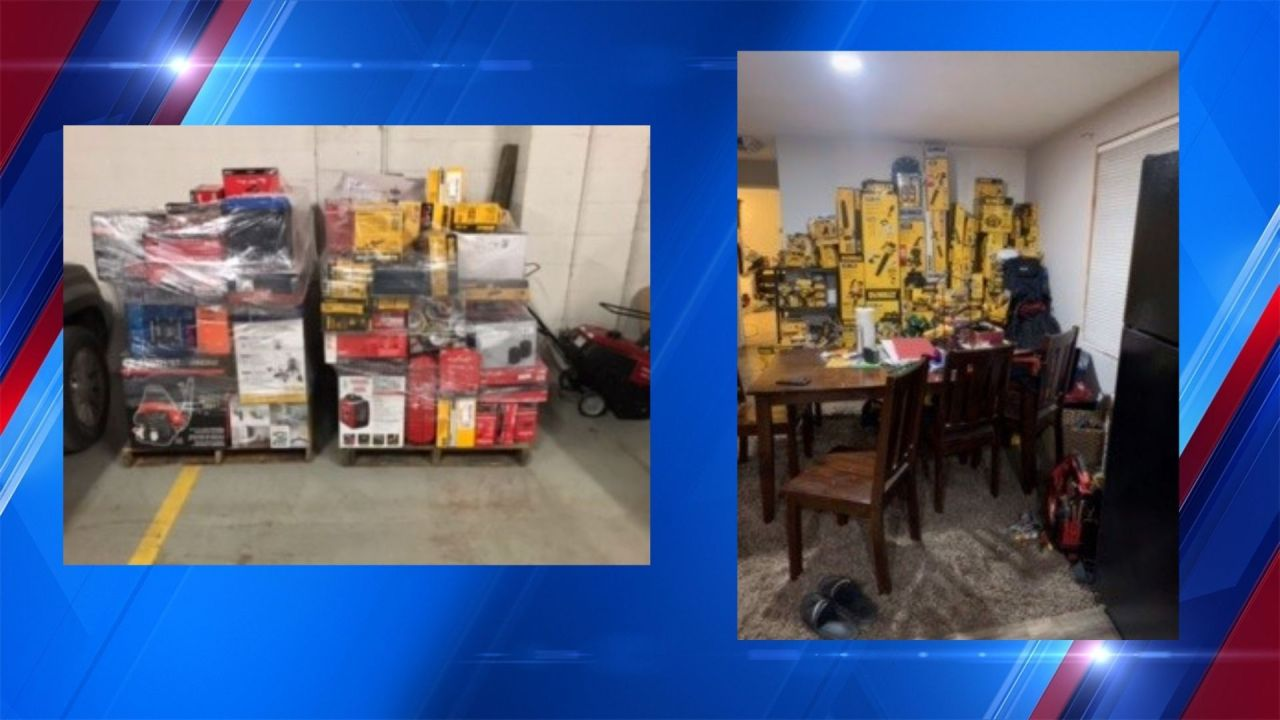 West Valley man arrested for organized retail crime, caught with over $80,000 in stolen goods